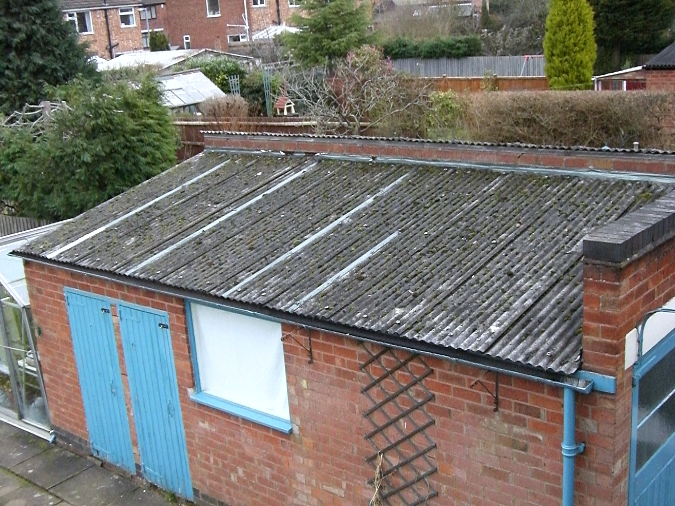 Asbestos Garage Roof Safe And Legal Solution Roof Repairs
