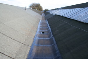 factory roof gutter repairs