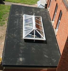 rubber roofing repairs