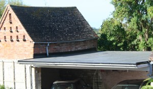ClassicBond EPDM Rubber Roofing on Car-Port