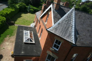 Orangery Roof to The Priory