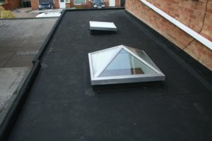Resitrix used to seal round bespoke rooflights